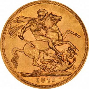 Χρυσό νόμισμα Αγγλίας
