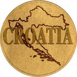 Χρυσό νόμισμα Κροατίας