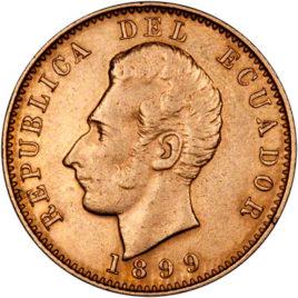 Χρυσό νόμισμα Εκουαδόρ