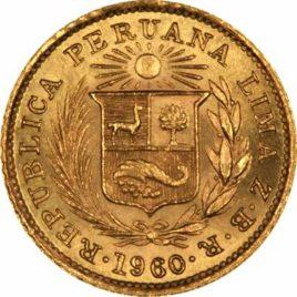 Χρυσό νόμισμα Περού
