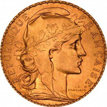 Χρυσό νόμισμα Γαλλίας