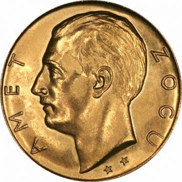 Χρυσό νόμισμα Αλβανίας