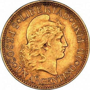 Χρυσό νόμισμα Αργεντινής