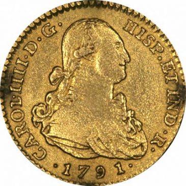 Χρυσό νόμισμα Ισπανίας