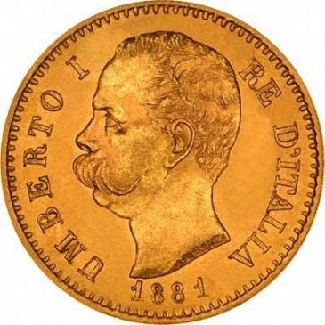 Χρυσό νόμισμα Ιταλίας