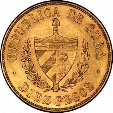 Χρυσό νόμισμα Κούβας