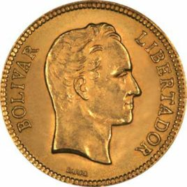 Χρυσό νόμισμα Βενεζουέλας